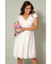 rochii albe de gravide pentru cununie