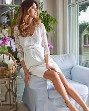 rochii cununie civila pentru gravide
