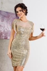 rochii de cununie aurii ieftine