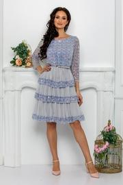 rochii de cununie babydoll albastre