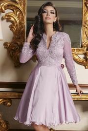 rochii de cununie babydoll turcoaz