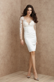 rochii de cununie civila toamna elegante