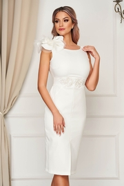 rochii de cununie civila vara albe