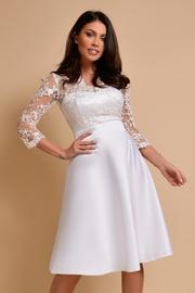 rochii din dantela pentru cununie elegante