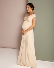 rochii gravide cununie civila lungi